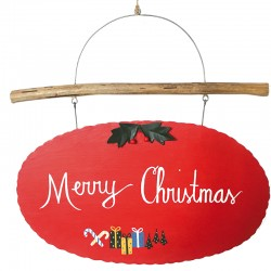 NEW LEA130 Merry christmas sign