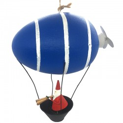 LEA148 Santa Claus in blue Airship