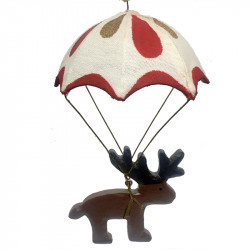 NEW LEA190 Reindeer in parachute