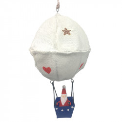 NEW LEA207 Santa in hot air balloon