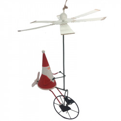 NEW LEA220 KINGSIZE Santa on airbike