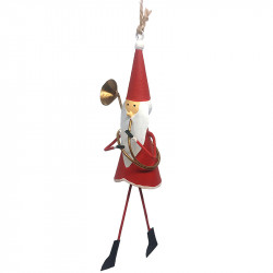 NEW LEA170 Santa plays trombone