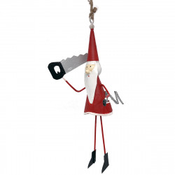 NEW LEA246 Santa with saw and ruler